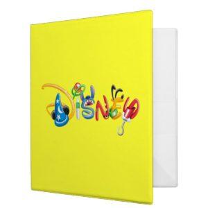 Disney Logo   Boy Characters Binder