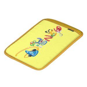 Disney Logo | Boy Characters iPad Sleeve