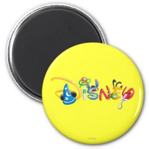 Disney Logo   Boy Characters Magnet