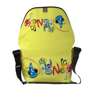 Disney Logo | Boy Characters Messenger Bag