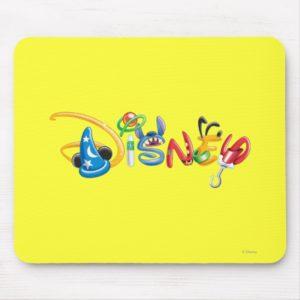 Disney Logo   Boy Characters Mouse Pad