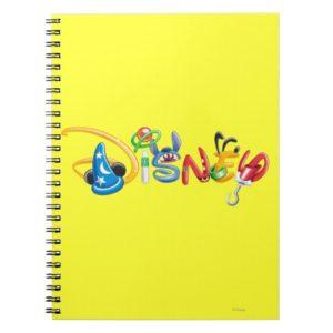 Disney Logo | Boy Characters Notebook