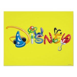 Disney Logo | Boy Characters Poster