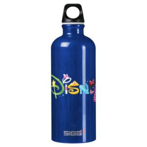 Disney Logo | Girl Characters Aluminum Water Bottle