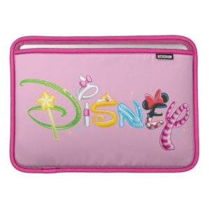 Disney Logo | Girl Characters MacBook Air Sleeve