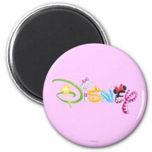 Disney Logo   Girl Characters Magnet