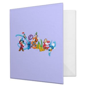 Disney Logo | Mickey and Friends Binder
