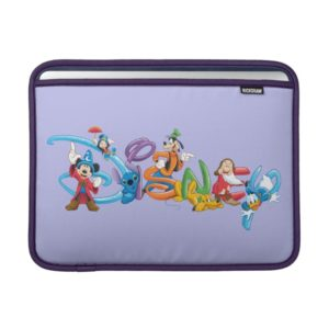 Disney Logo | Mickey and Friends MacBook Sleeve