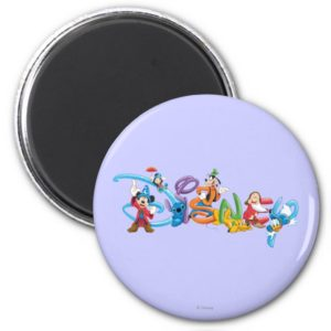 Disney Logo   Mickey and Friends Magnet