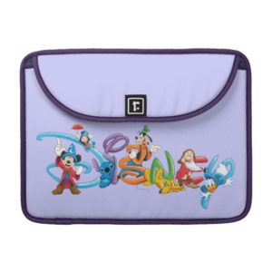Disney Logo | Mickey and Friends Sleeve For MacBook Pro