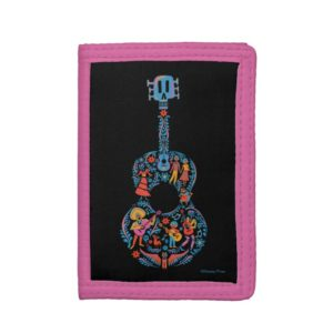 Disney Pixar Coco | Colorful Character Guitar Trifold Wallet