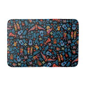 Disney Pixar Coco | Colorful Character Pattern Bathroom Mat