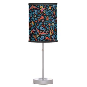 Disney Pixar Coco | Colorful Character Pattern Table Lamp