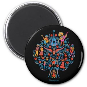 Disney Pixar Coco | Colorful Character Tree Magnet