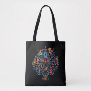 Disney Pixar Coco | Colorful Character Tree Tote Bag