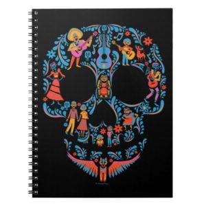 Disney Pixar Coco | Colorful Sugar Skull Notebook