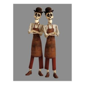 Disney Pixar Coco | Cool Twin Skeletons Postcard