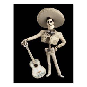 Disney Pixar Coco | Ernesto | Holding Guitar Postcard