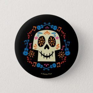 Disney Pixar Coco   Gothic Sugar Skull Pinback Button