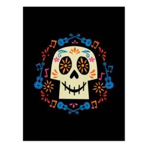 Disney Pixar Coco | Gothic Sugar Skull Postcard