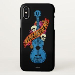 Disney Pixar Coco | Guitar Sugar Skulls Typography iPhone Case