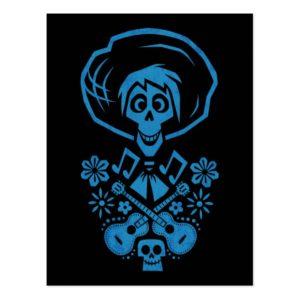 Disney Pixar Coco | Hector | Guitar Silhouette Postcard