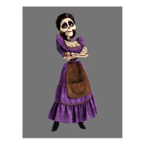 Disney Pixar Coco | Imelda | Skeleton Grandmother Postcard