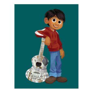 Disney Pixar Coco | Miguel | Cool Musician Postcard
