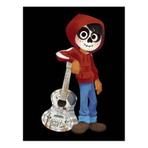 Disney Pixar Coco | Miguel | Standing with Guitar Postcard