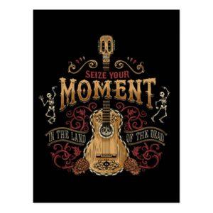 "Disney Pixar Coco | ""Seize Your Moment"" Quote Postcard"