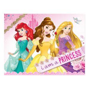 Disney Princess | Ariel, Belle and Rapunzel Postcard