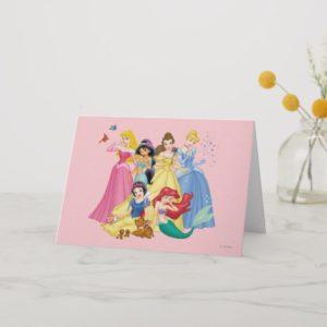 Disney Princess   Birds and Animals Card