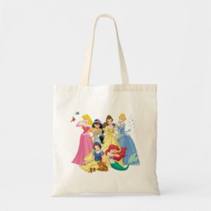 Disney Princess   Birds and Animals Tote Bag