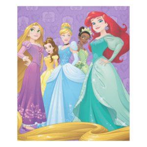 Disney Princesses | Fearless Is Fierce Fleece Blanket
