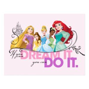 Disney Princesses | Never Give Up Postcard