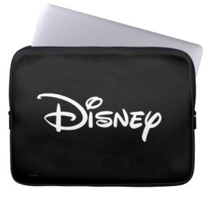 Disney White Logo Computer Sleeve