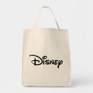 Disney White Logo Tote Bag