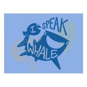 Dory & Destiny | I Speak Whale Postcard