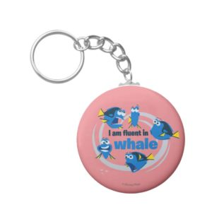 Dory | I am Fluent in Whale Keychain
