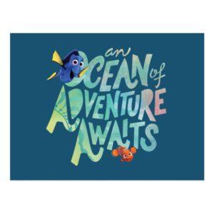 Dory & Nemo | An Ocean of Adventure Awaits Postcard