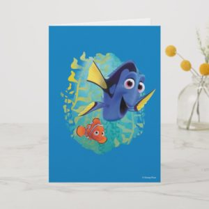 Dory & Nemo | Swim With Friends Card