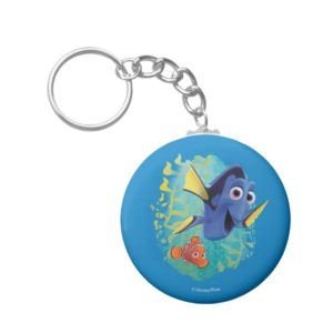 Dory & Nemo | Swim With Friends Keychain