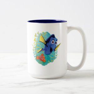 Dory & Nemo | Swim With Friends Two-Tone Coffee Mug