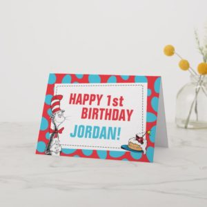 Dr Seuss | Cat in the Hat Birthday Card