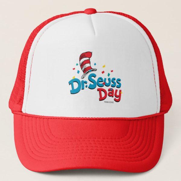 Dr. Seuss Day   Confetti Trucker Hat