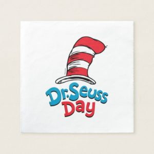Dr. Seuss Day Napkin