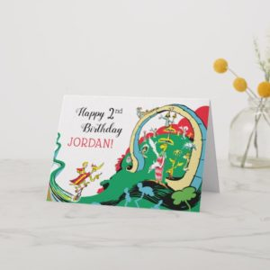 Dr Seuss | Happy Birthday To You! Card