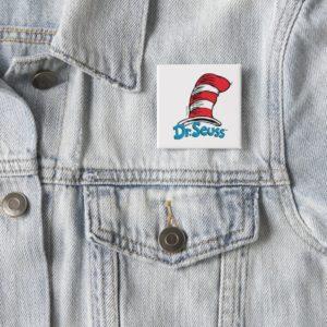 Dr. Seuss Hat Logo Button