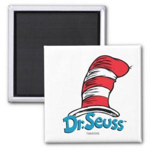 Dr. Seuss Hat Logo Magnet