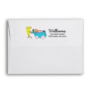 Dr. Seuss | One Fish - Boy Baby Shower Envelope